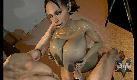 Enquanto a prostituta Kendra luxúria, chupar video dos irmãos porno e lamber no sofá, o cara tem um pau e ele queria explodir alguém, e chupá-la ao orgasmo, e só depois que ele fodeu os dois e cheio de porra em seus rostos.